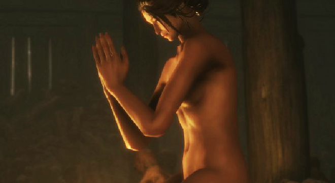 For Sekiro Released the First Mod With Naked Characters