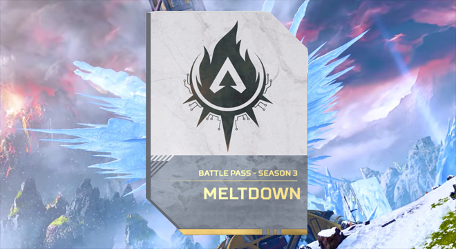 "Apex Legends Season 3 ""Meltdown"" Battle Pass"