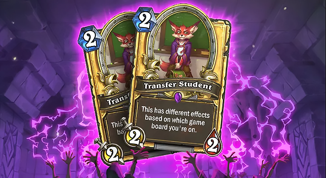 Hearthstone – How to Unlock the Golden Transfer Students