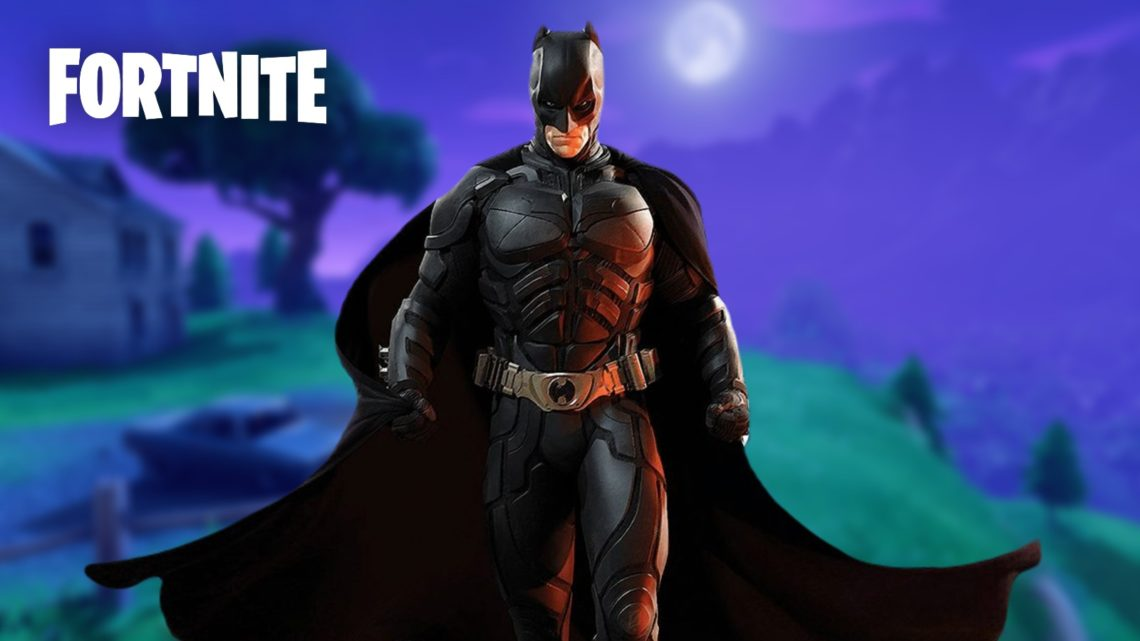 Batman's Bat Cave Secret Location POI in Fortnite