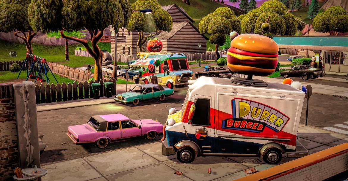 Where to Find all Food Trucks Fortnite – Chapter 2
