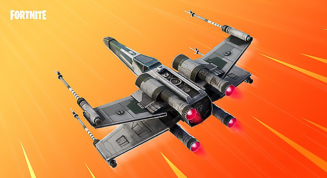 Fortnite: How to Get Stars Wars Squadron X-Wing Glider Free