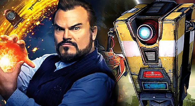 Borderlands Movie. Jack Black Will Play the Sarcastic Claptrap